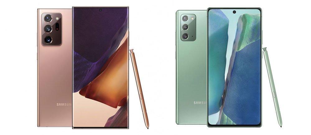 Samsung Galaxy Note 20 Phones