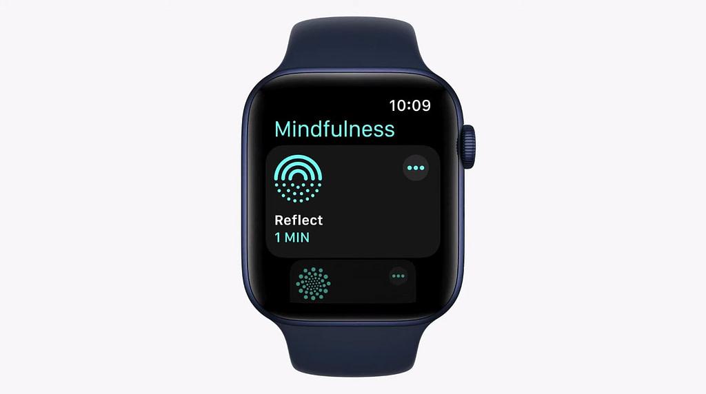 watchOS 8 Mindfulness app