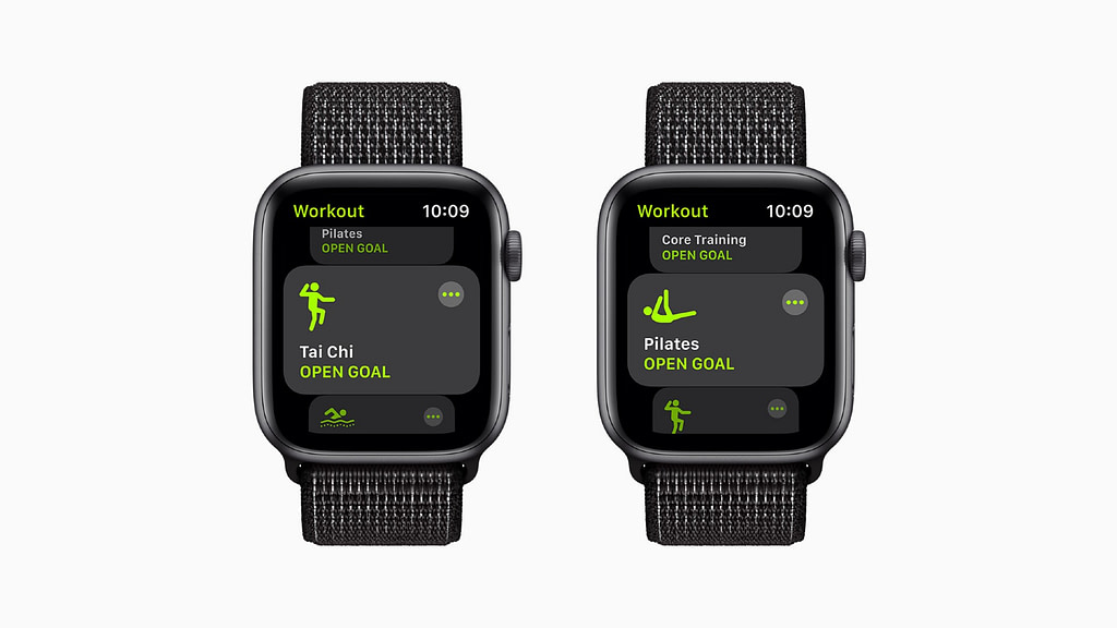 watchOS 8 new workouts
