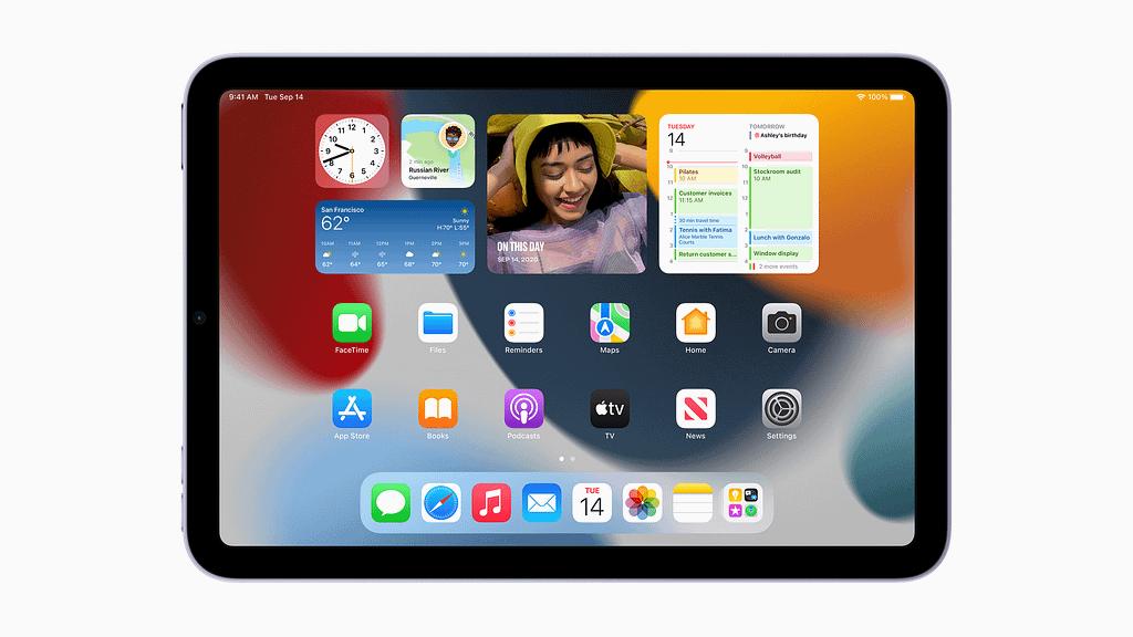 iPad mini 2021 front