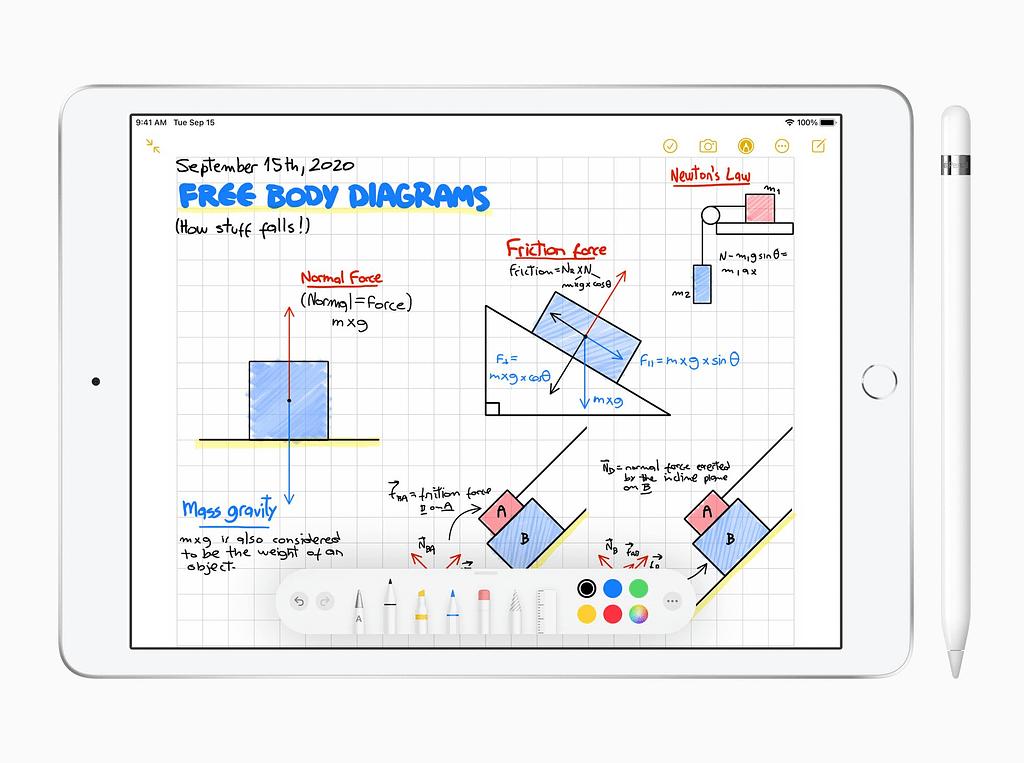 Apple iPad 8th Generation with Apple Pencil