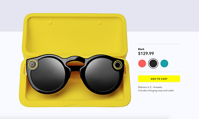 Snapchat Spectacles Online