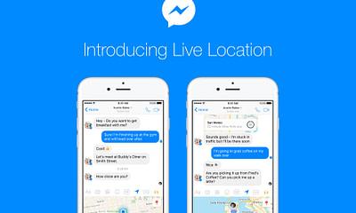 Live Location on Messenger