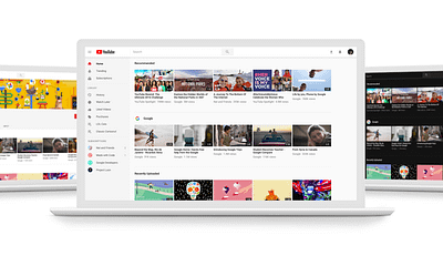 YouTube Desktop Update