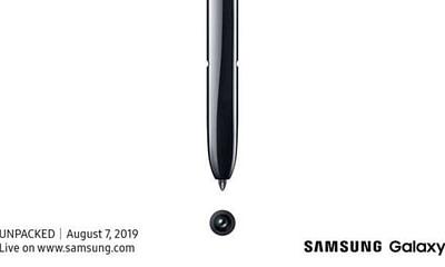 Galaxy Note 10 Invite