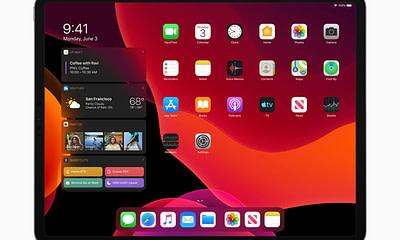 Apple iPadOS Dark Mode