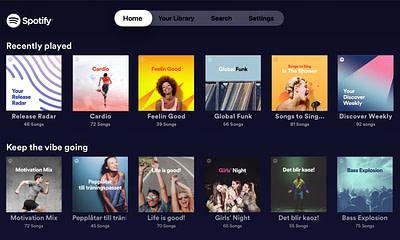 Spotify Apple TV App