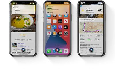 Apple iOS 14 Siri