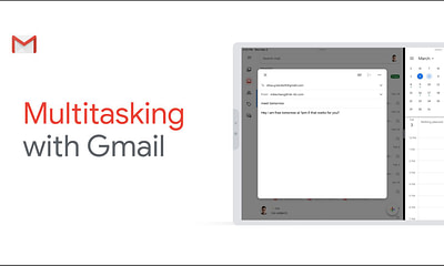 Gmail for iPad Multitasking
