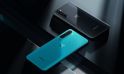 OnePlus Nord Blue and Gray