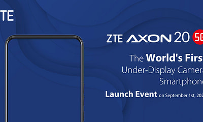 ZTE Axon 20 5G Launch