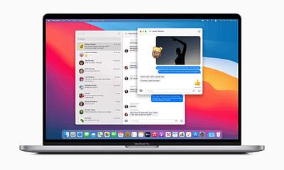 Apple Big Sur Messages