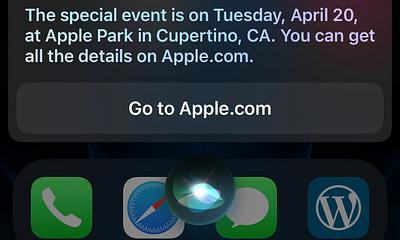 Apple Event 2021 Siri