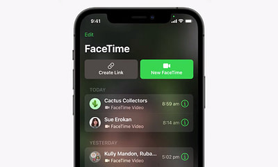 FaceTime on iPhone