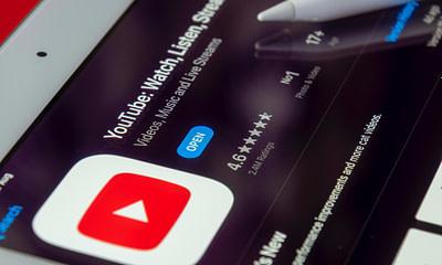 YouTube on iPad