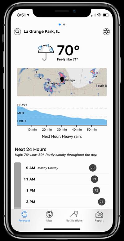 Dark Sky iOS App