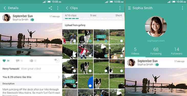 HTC Zoe App