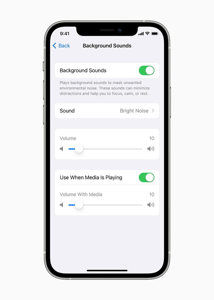 Apple Background Sounds