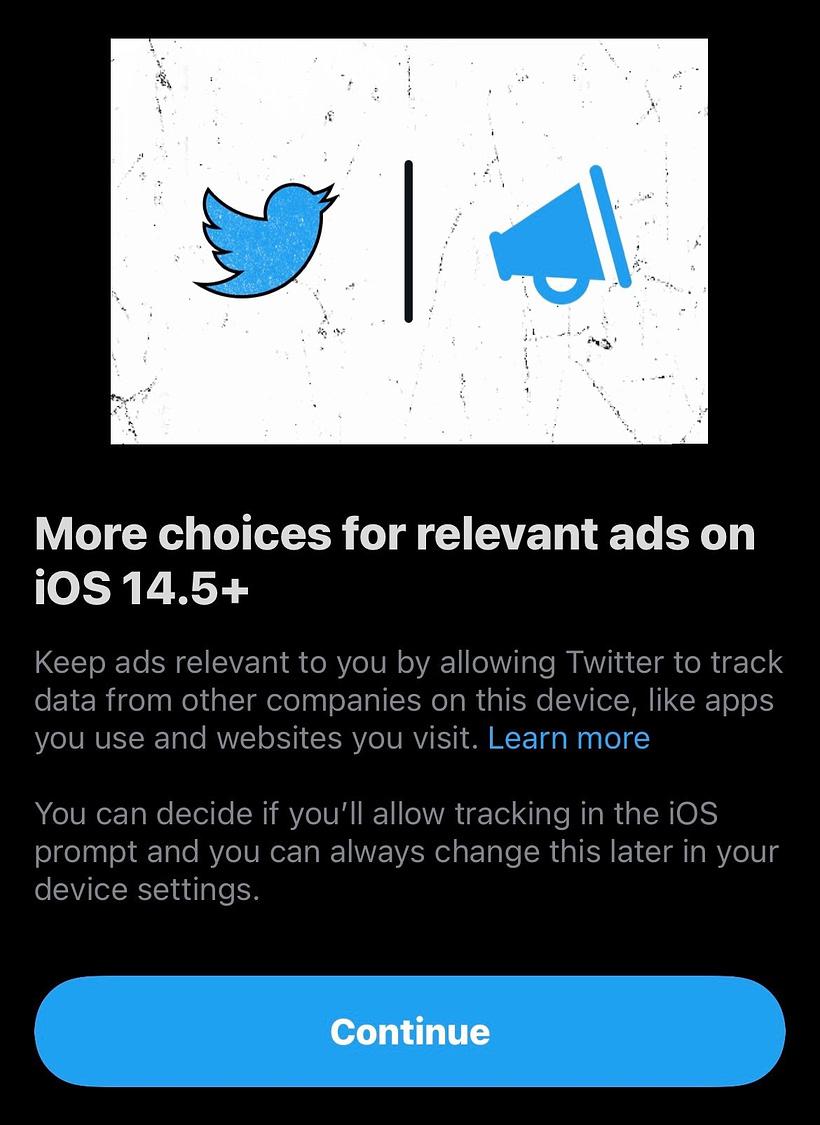 Twitter App Tracking
