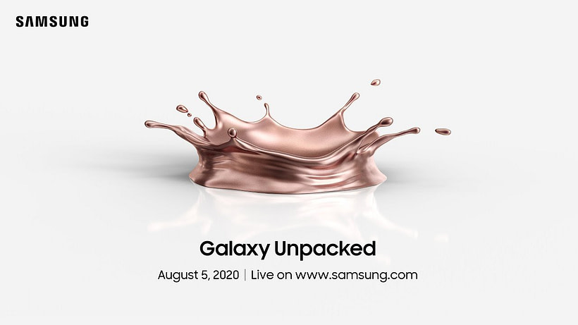 Samsung Galaxy Unpacked August 2020